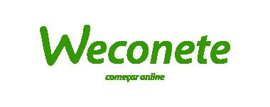 Weconete Verde - slogan centro